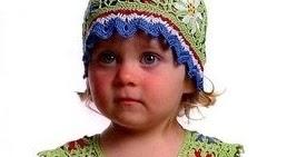 Hermoso vestido de niñita - Crochet Niños
