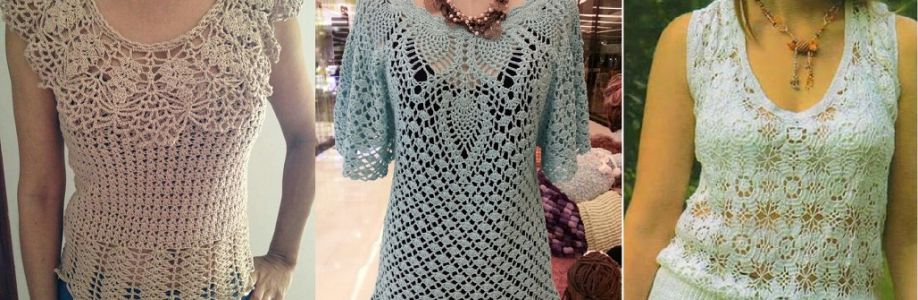 Solo blusas en crochet Cover Image