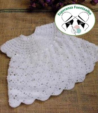 Vestidos ganchillo bebe - Tejidos al Crochet