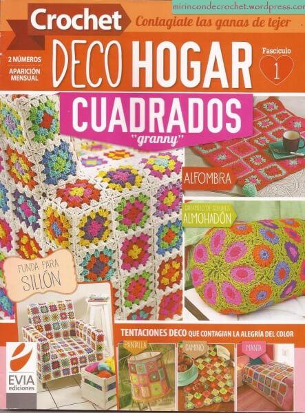Revistas de patrones - Esquemas Crochet