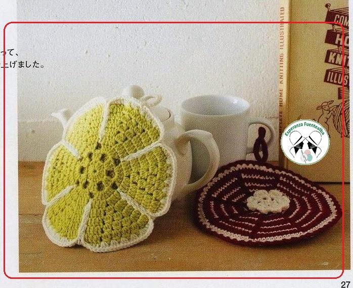 Agarradera de crochet - Tejidos al Crochet
