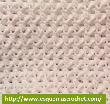 Como hacer puntadas de gancho - Esquemas Crochet